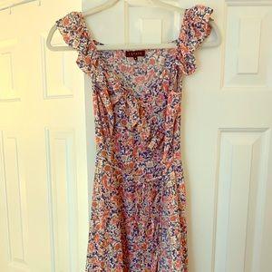 1.STATE Floral Mini Dress